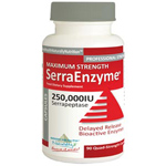 Serra Enzyme 250,000iu – ADVANCED and IMPROVED Maximum Strength