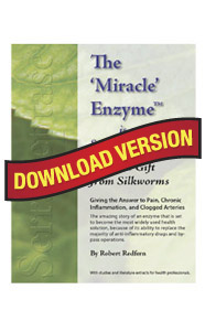 Serrapeptase Ebook – The Miracle Enzyme