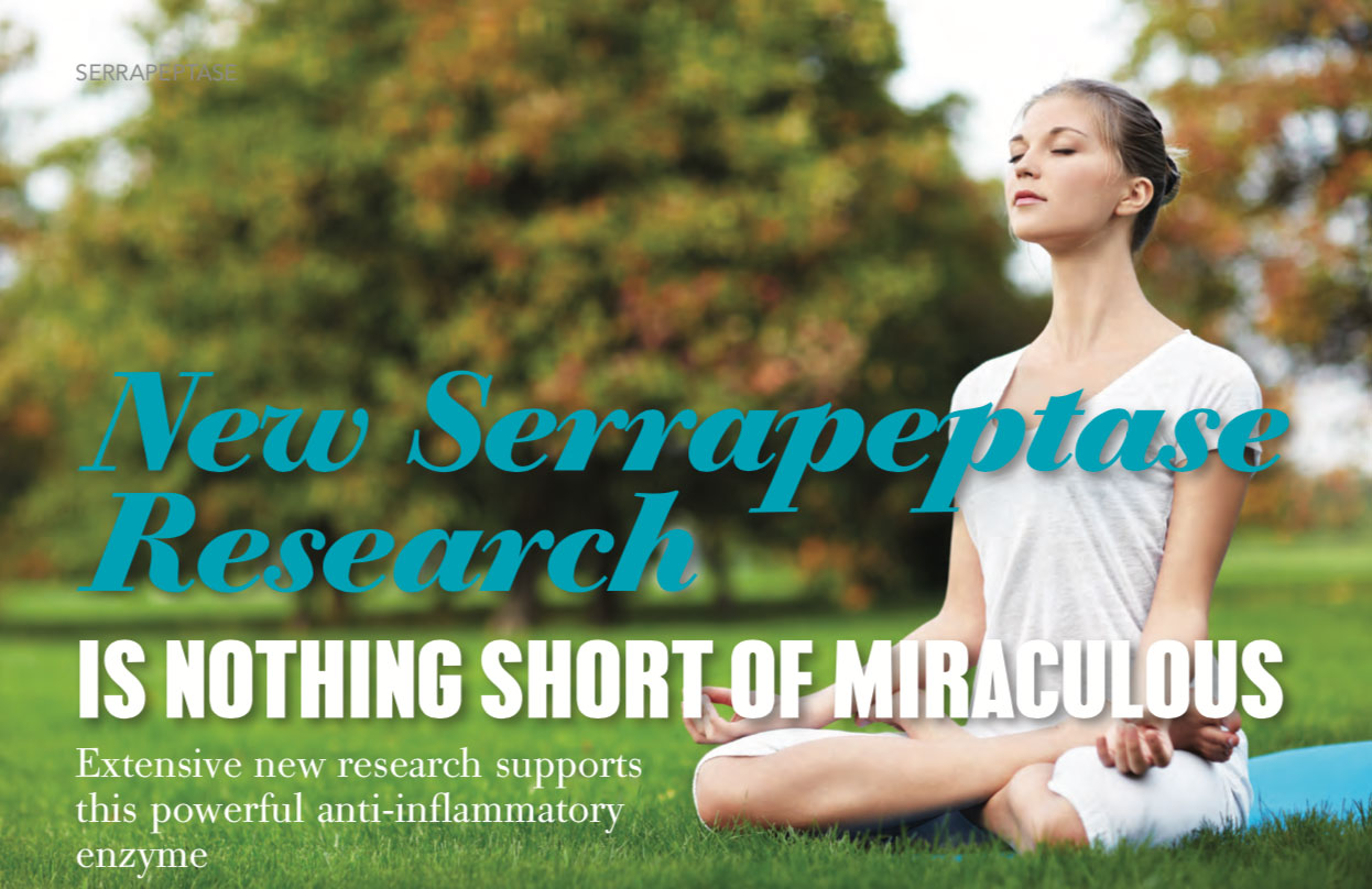 New serrapeptase research